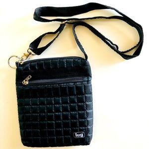 Lug Crossbody Quilted bag, EUC